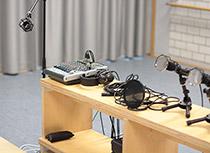 Mikrofone Mischpult Ballettsaal