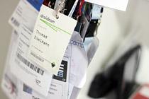 Unzählige Tickets und Badges