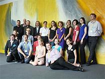 Gruppenfoto des Orga-Team des Open-Summit