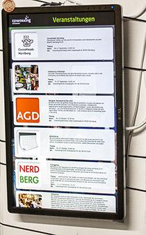 Veranstaltungen in Coworking Space in Nürnberg
