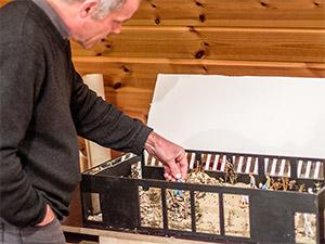Dag Encke der Direktor des Nürnberger Tiergartens zeigt sein neuestes Projekt