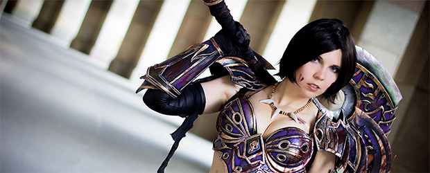 Svetlana Quindt Kamui als Warrior auf World of Warcraft