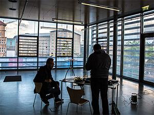 Sendungsvorbereitung Jan Hagemann Crowdfunding