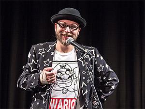 Michael Michl Jakob auf der Bühne