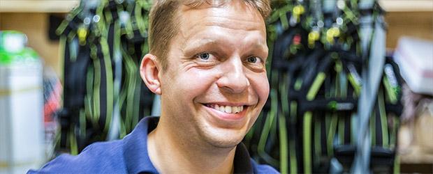 Portrait Sven Kutzsch, Krankenpfleger und Kletterwald Experten