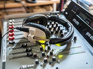 Kopfhörer Mischpult