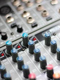 Podcast Nürnberg und so - Mischpult