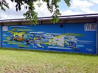 Eindrücke von dem Graffiti-Sound-Festival - Mural Art Weekend Nürnberg