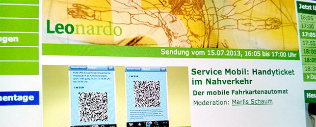 Nürnberg und so goes WDR5 Leonardo
