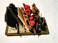 Schokolade aus eigener Herstellung in rauen Mengen