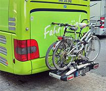 Die Plätze am Fahrradständer sind begrenzt