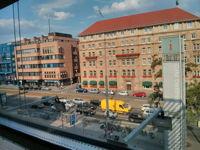 Blick auf das Le Meridien Grand Hotel Nürnberg von unserem Studio im KunstKulturQuartier.