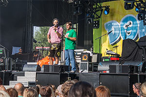Bürgermeister und Bernhard Fleischmann