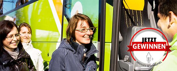 Gewinnspiel kostenlose Fahrt Meinfernbus