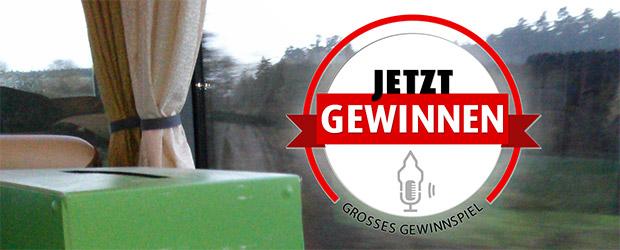 Gewinnspiel Meinfernbus - Gutschein gewinnen
