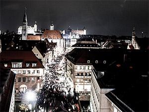 Eröffnung des Nürnberger Christkindlesmarkts 2013