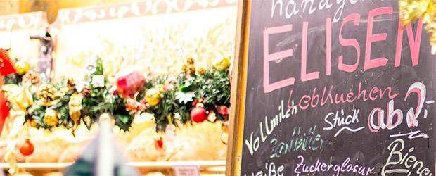 Blick in den Verkaufsbereich von Lebkuchen Düll und Bäckerei