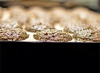 Ungebackene rohe Lebkuchen von Düll