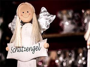Schutzengel auf dem Nürnberger Christkindlesmarkts