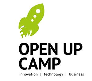 Logo Open Up Camp Nürnberg 2014