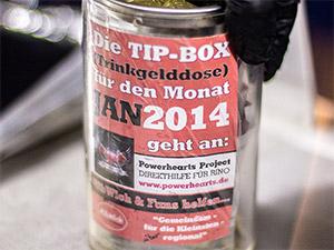 Die Trinkgelddose von RibWich