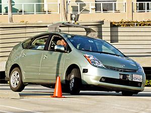 Google Auto während des Tests