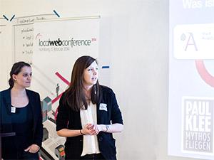 Movin Klee: Britta Diehm, Kerstin Vierthaler WarmUp localWebConference