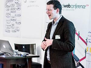 Regiondo Gründer: Oliver Nützel WarmUp localWebConference