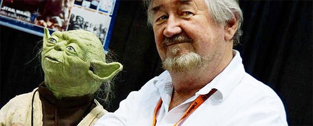 Nick Maley - Der Yoda Guy - zusammen mit Yoda