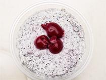 Swagmans Nachspeisen - Mohn-Quark mit Kirschen
