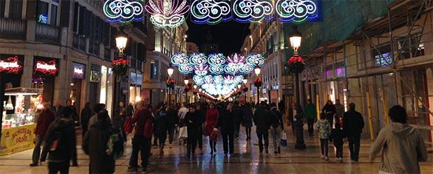 Fußgängerzone Malaga
