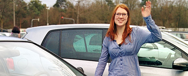 Katharina K. bei BlaBlaCar Mobilitätsportal