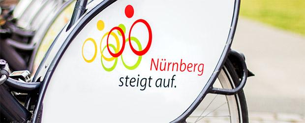 Radverkehrsstrategie Nürnberg steigt auf, eine Aktion der Stadt Nürnberg