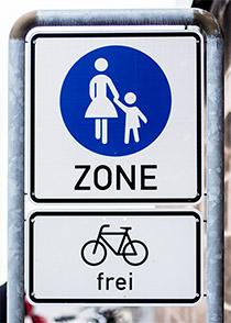 Radverkehrsstrategie Fußgängerzonen werden für Fahrräder geöffnet