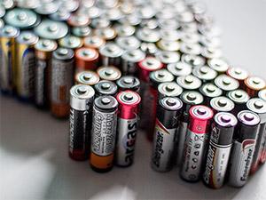 Ein Elektroauto nur aus Batterien von vorne