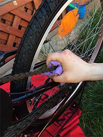 Kette putzen, Fahrrad fit für den Frühling machen