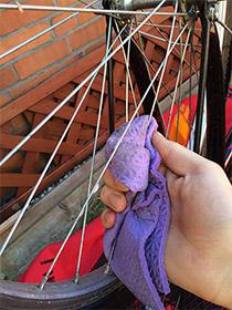 Speichen putzen, Fahrrad fit für den Frühling machen