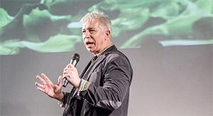 Nico Pirner auf der Pecha Kucha Night Volume 9 in Nürnberg