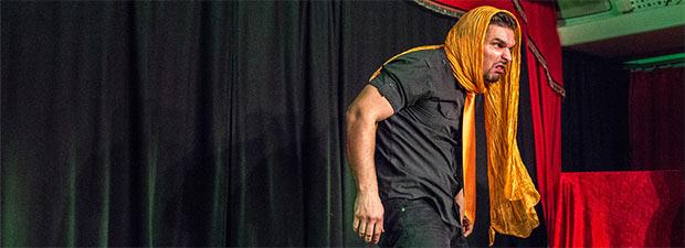 Philipp Hofmann auf Bühne