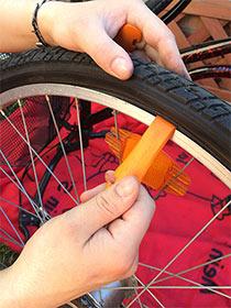 Reifenheber Platten reparieren