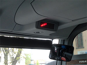 Anschnallpflicht Hinweis Flixbus