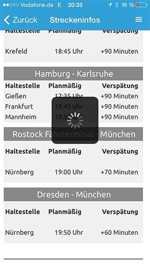 Verspätung App Smartphone Flixbus