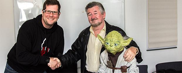 Markus Wolf, Yoda und Nick Maley