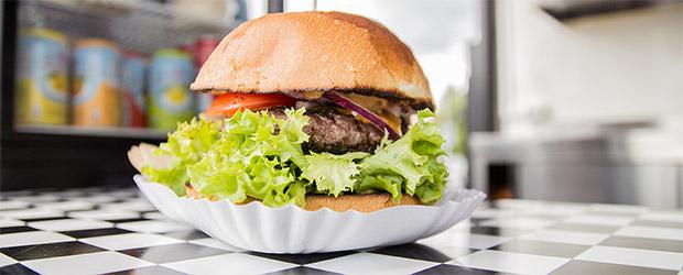 Guerilla Gröstls Burger