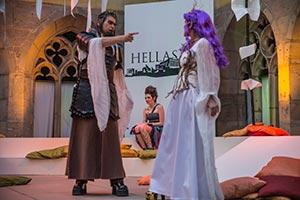 Oberon, Butterblume und Titania