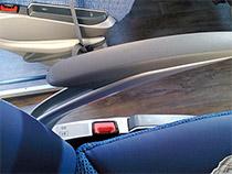 Lehnen und Sitzeinstellungen im IC-Bus