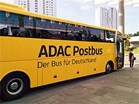 Fernbus von ADAC Postbus