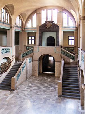 Empfangshalle Volksbad Nürnberg