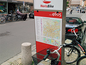 Noris Bike Station Heilig Geist Spital