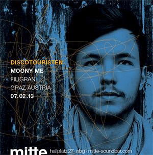 Moony me Discotouristen